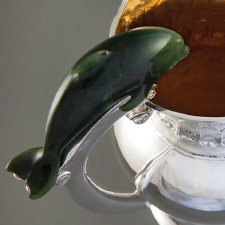 Dolphin water pitcher
