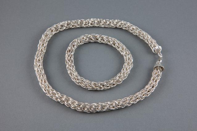 Roman Necklace and Bangle Set